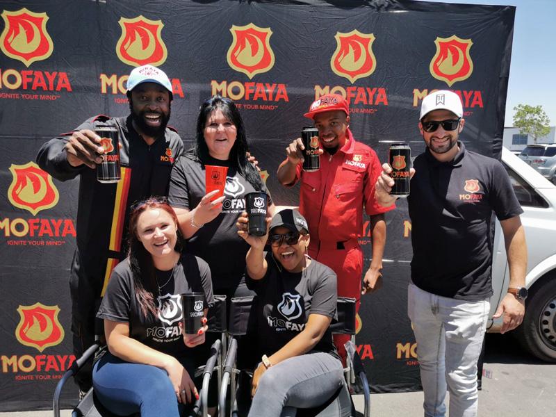 How did Mofaya find their energy drink recipe?